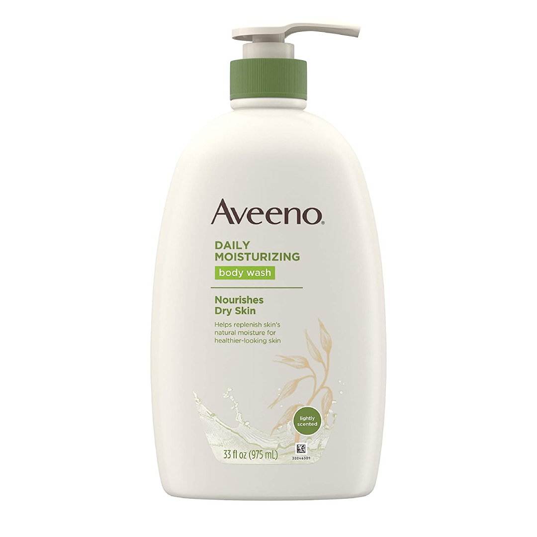 Aveeno Daily Moisturizing Body Wash with Soothing Oat Creamy Shower Gel