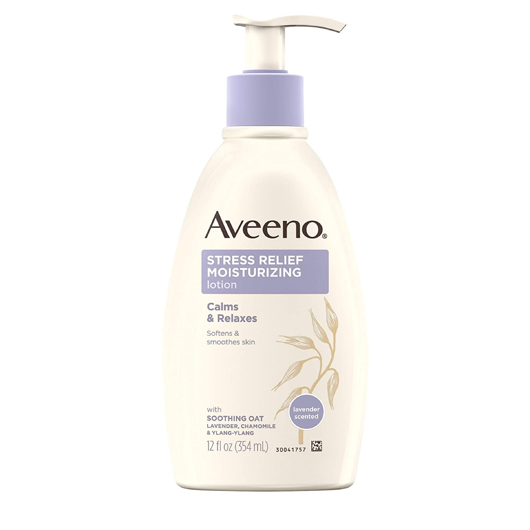 Aveeno Stress Relief Moisturizing Body Lotion with Lavender