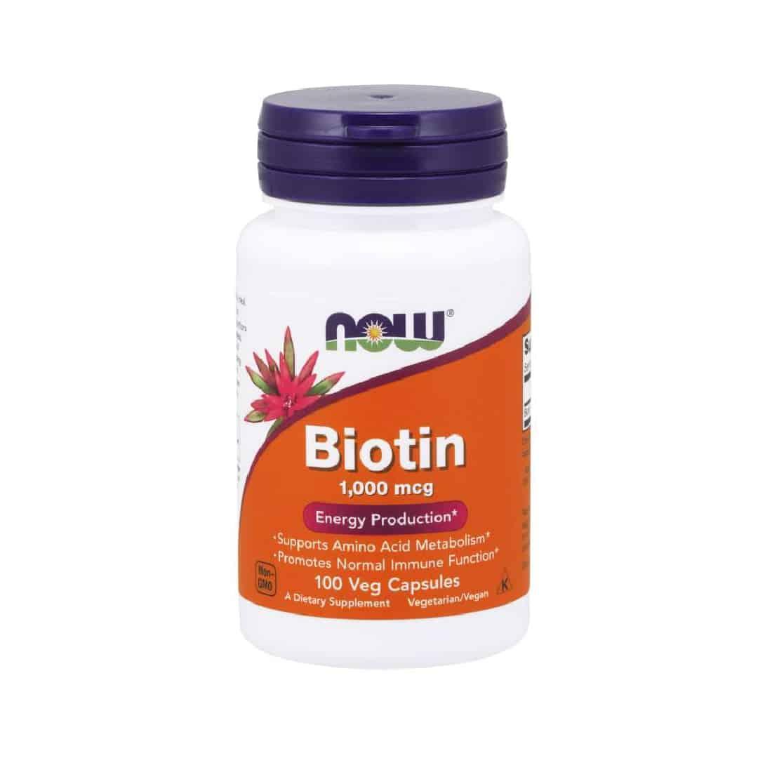 Biotin 1000 mcg Veg Capsules