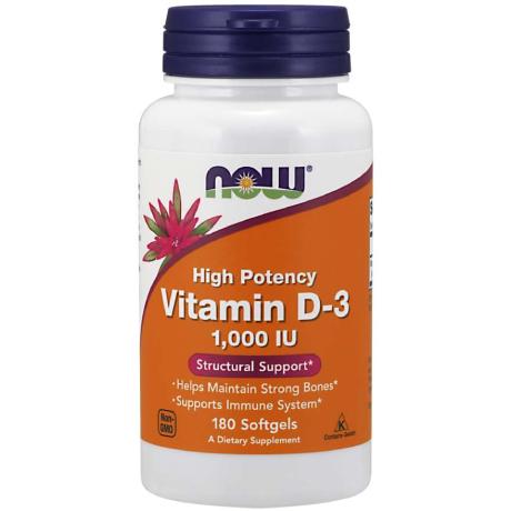 Vitamin D-3 1000 IU 180Softgels