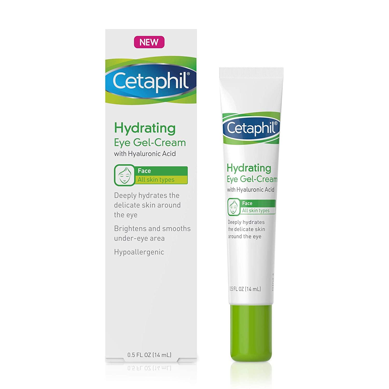 Cetaphil Hydrating Eye Gel Cream, 0.5 Oz 14ml