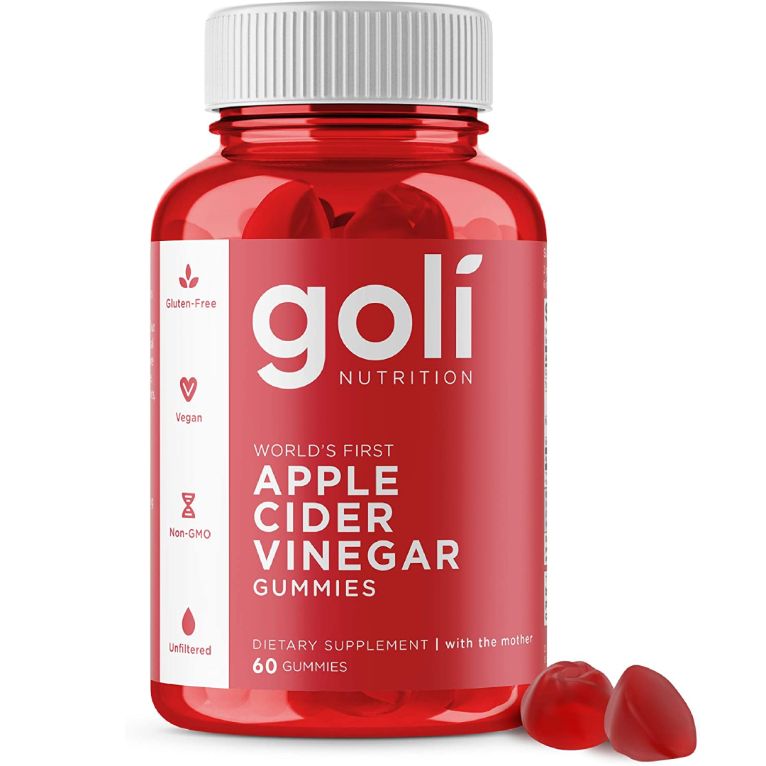 Apple Cider Vinegar Gummy Vitamins by Goli Nutrition Immunity & Detox