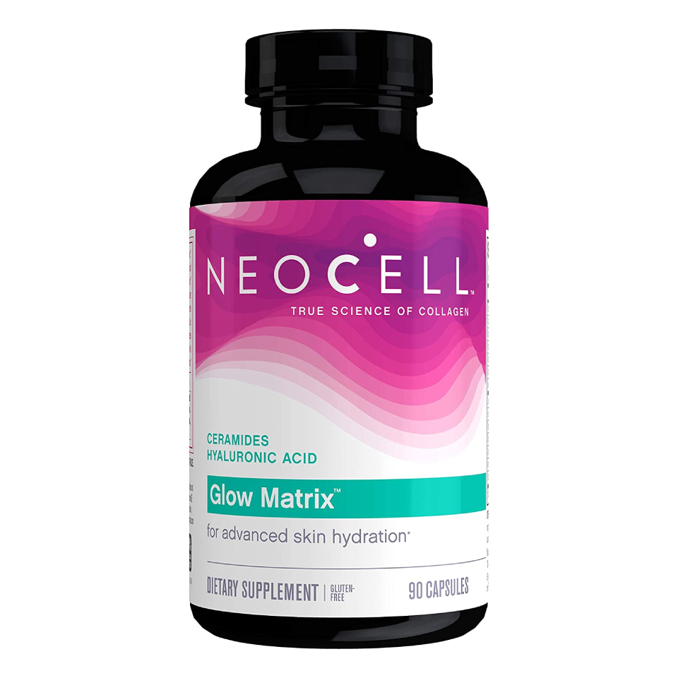 NeoCell Glow Matrix, Collagen Capsules, Skin Hydration and Elasticity, 90 Capsules