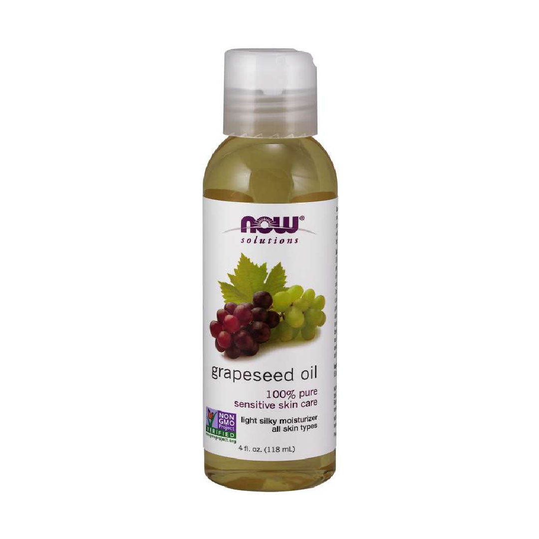 Grapeseed Oil Skin Care for Sensitive Skin Light Silky Moisturizer for All Skin Types 100% Pure