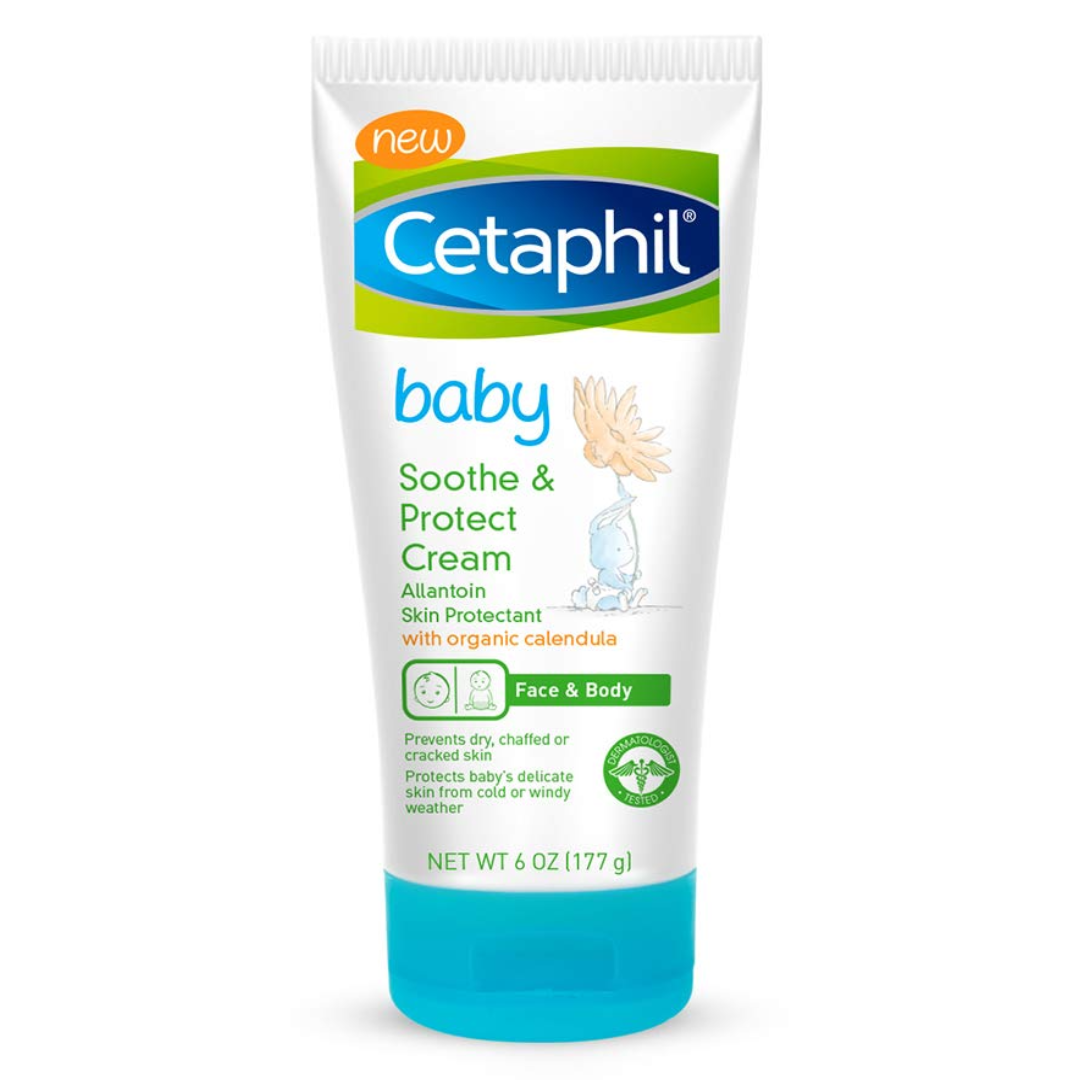 Cetaphil Baby Soothe & Protect Cream with Allantoin Skin Protectant  6 oz