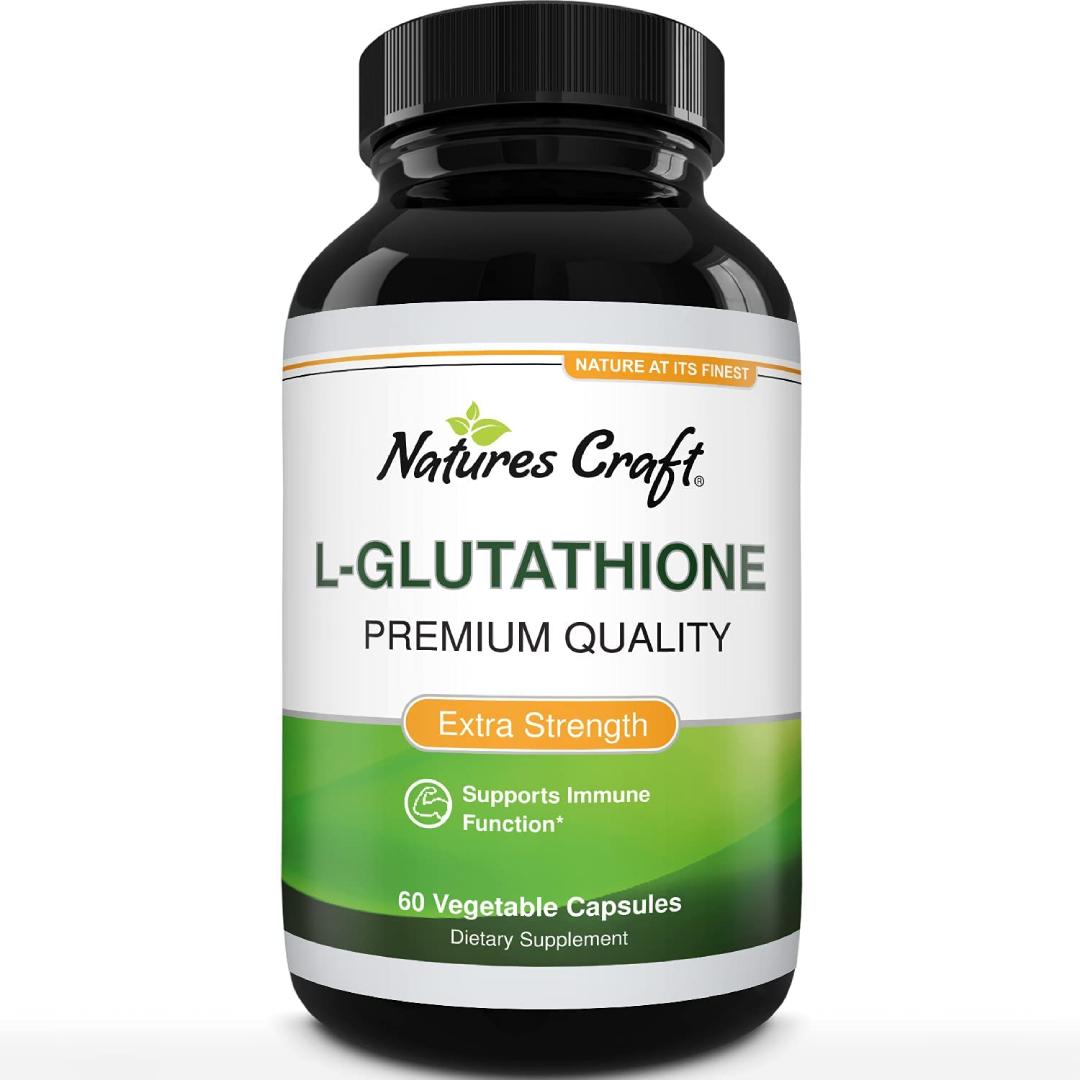 Glutathione Skin Whitening Supplement Natures Craft