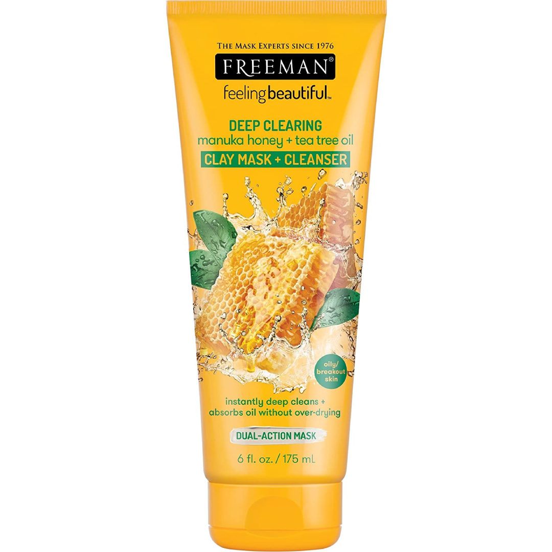 Freeman Deep Clearing Clay Facial Mask and Cleanser