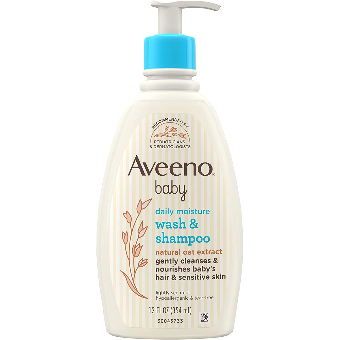Aveeno Baby Gentle Wash & Shampoo with Natural Oat Extract