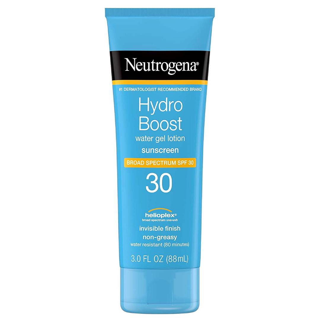 Neutrogena Hydro Boost Water Gel Non-Greasy Moisturizing Sunscreen Lotion SPF 30