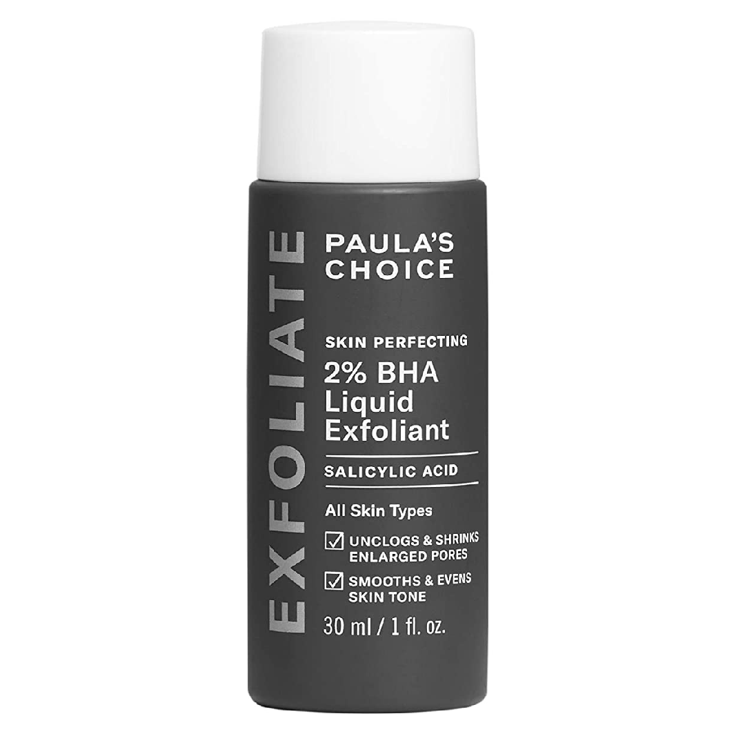Paulas Choice SKIN PERFECTING 2% BHA Liquid Salicylic Acid Exfoliant Facial Exfoliant for Blackheads, Enlarged Pores, Wrinkles & Fine Lines