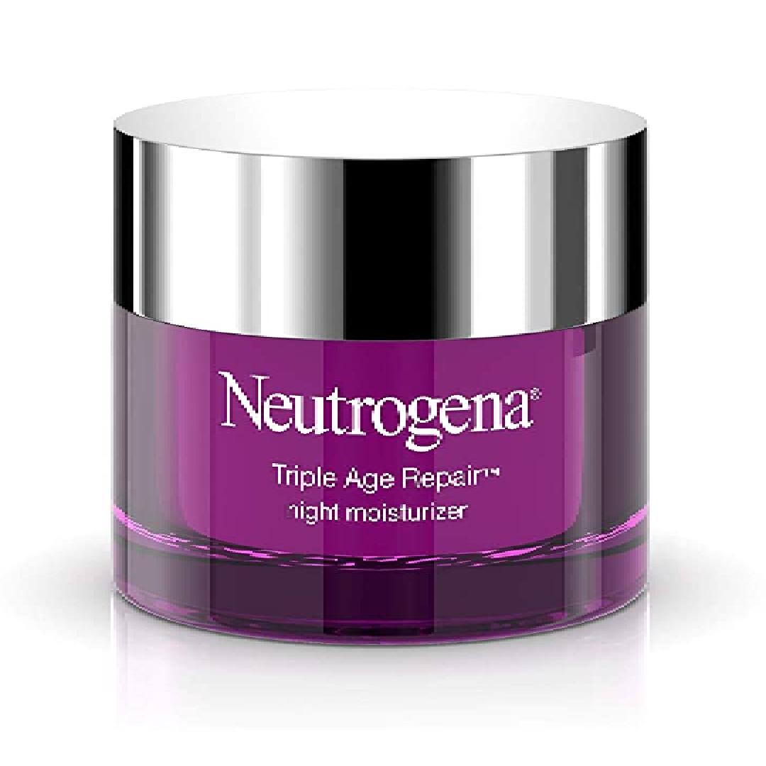 Neutrogena Triple Age Repair Anti-Aging Night Cream with Vitamin C