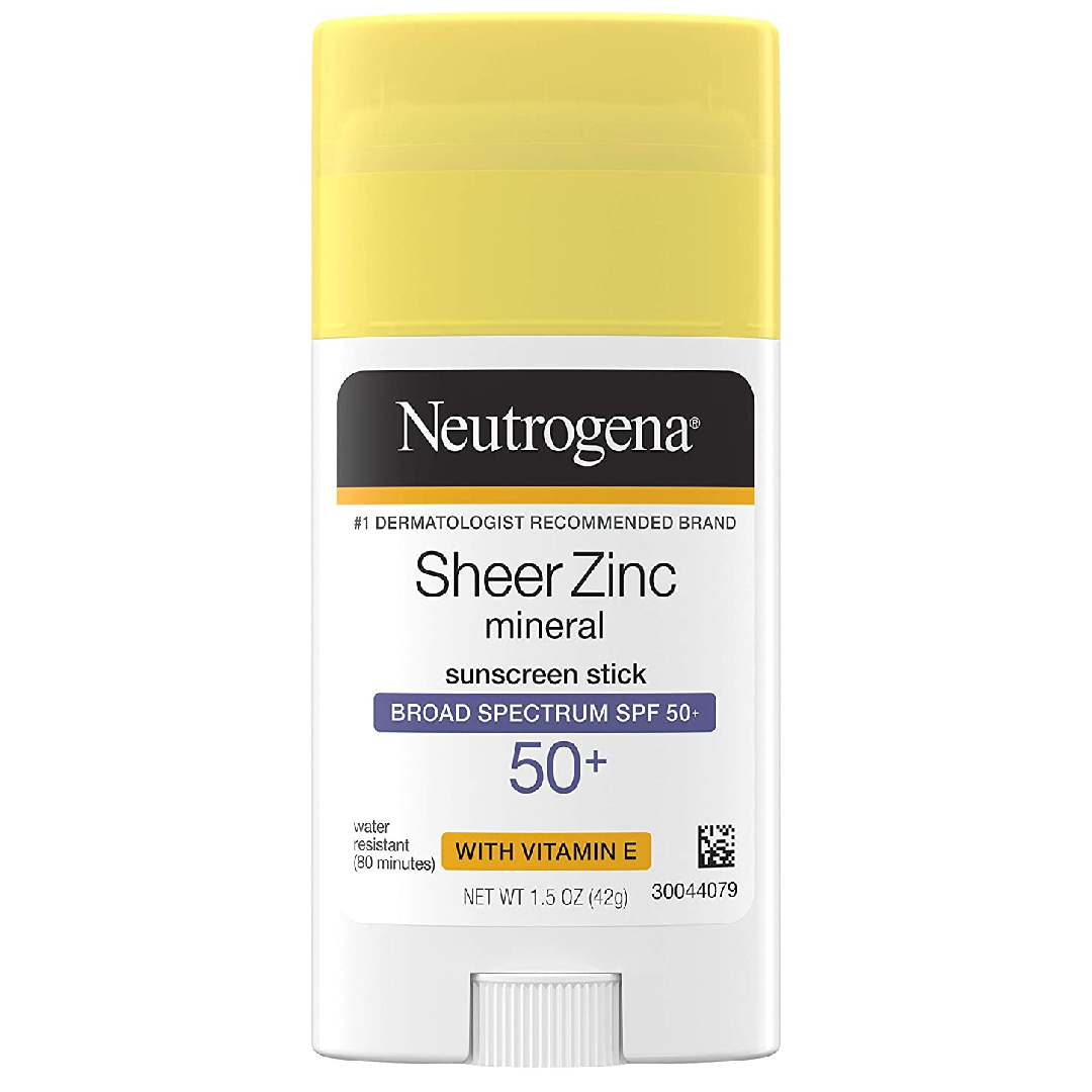 Neutrogena Sheer Zinc Oxide Mineral Sunscreen Stick with Vitamin E