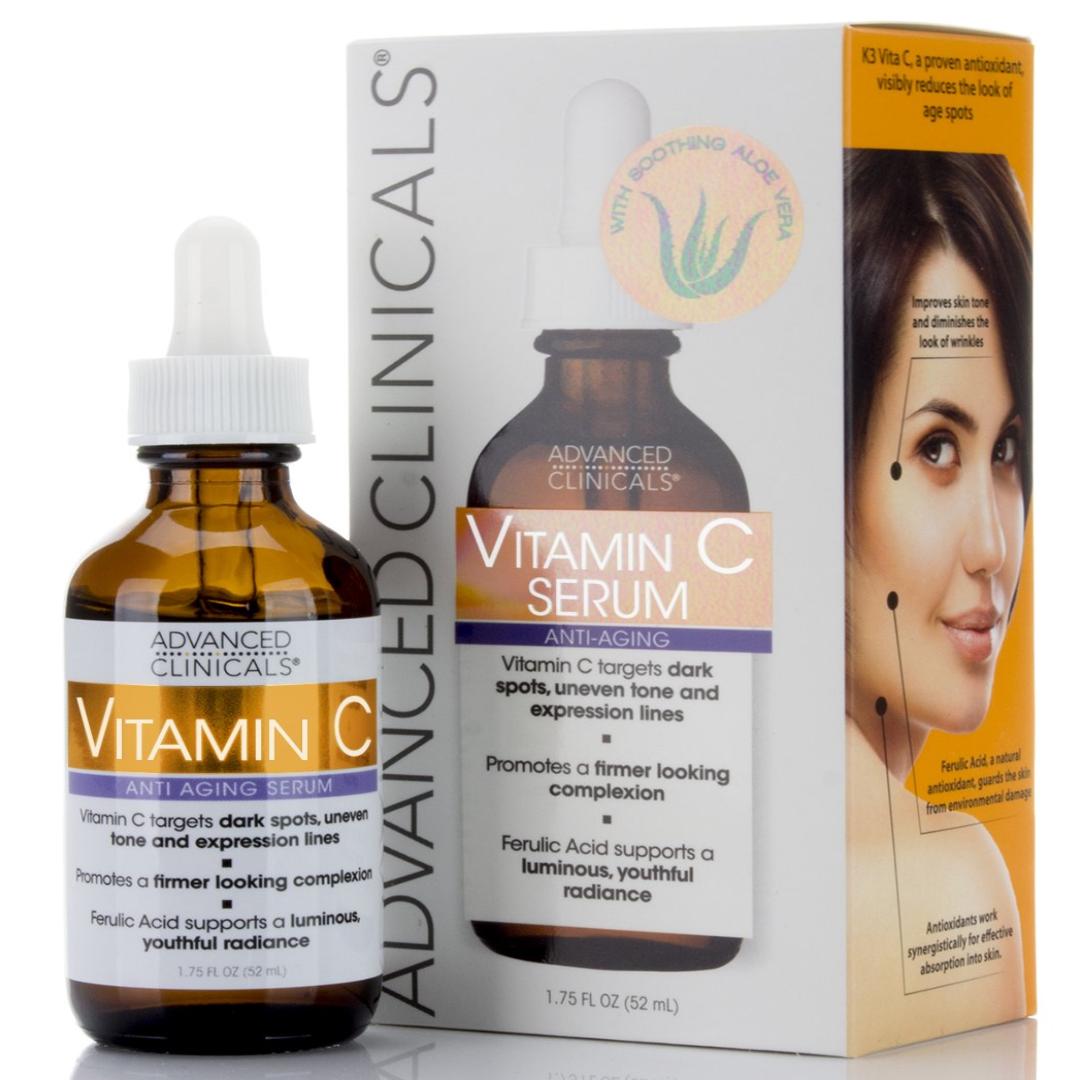 Advanced Clinicals Vitamin C Anti-aging Serum for Dark Spots