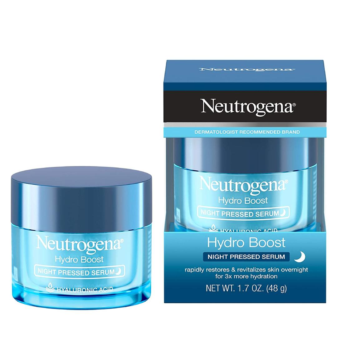 Neutrogena Hydro Boost Purified Hyaluronic Acid Pressed Night Serum