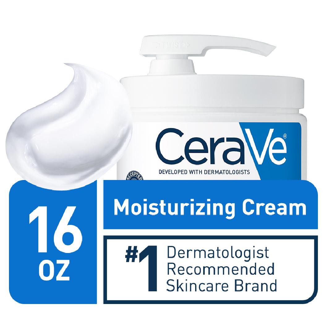 CeraVe, CeraVe Moisturizing Cream with Pump, 16 Ounce