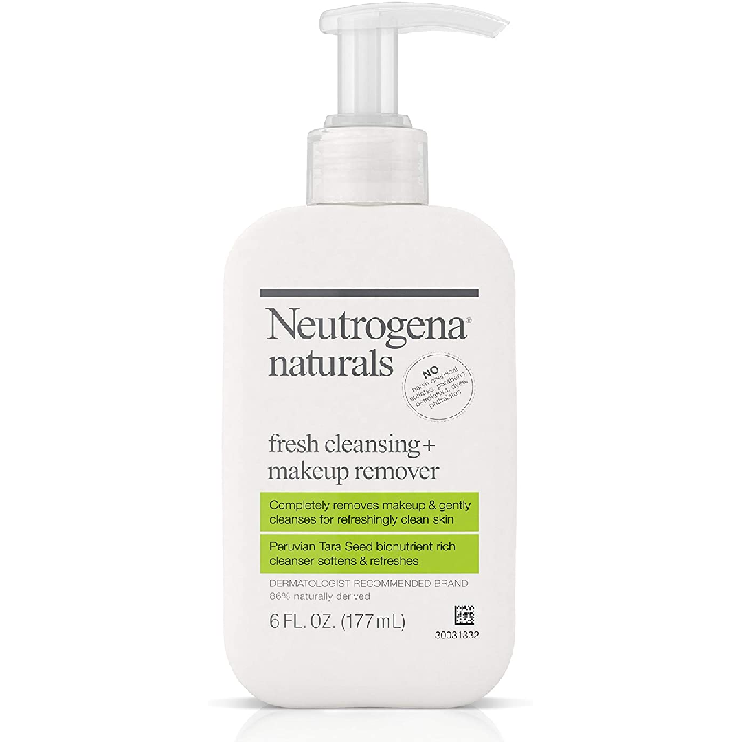 Neutrogena Naturals Fresh Cleansing And Makeup Remover, 6 fl. oz